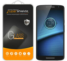 2X Supershieldz Tempered Glass Screen Protector Saver For Motorola Droid Maxx 2