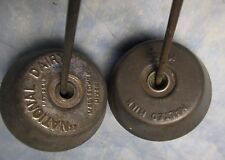 2 Vintage MALTED MILK MIXERS 1 National Dairy soda fountain ice cream frappe