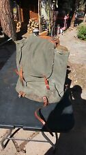 Vintage Swiss Army Military Backpack
