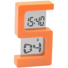 DIGITAL LCD ALARM TABLE DESK CLOCK TIME STOPWATCH - A49