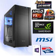 GAMER PC AMD  FX-8300 8x@4,20GHz+8GB+Geforce GTX1060 OC 3GB-MSI 970A-Win10