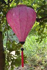 Lampion Seide lampen (Pink)