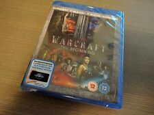 Warcraft 3D (3D + 2D Blu-ray, 2 Discs, Region Free) *BRAND NEW/SEALED*