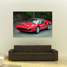 Poster of Ferrari 308 GTS Giant HD Huge 54x36 Inch Print 137x91 cm