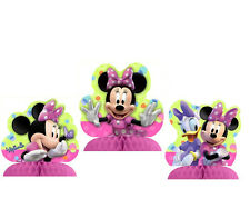 Disney MINNIE MOUSE ~ (3) Mini Centerpieces Table Decorations  ~ Birthday Party