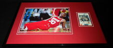 Kenny Jet Smith Signed Framed 11x17 Photo Display Rockets UNC TNT