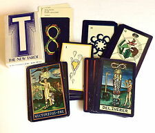 T: THE NEW TAROT For The Aquarian Age, Complete Deck 78 Cards + Box Lid Only VTG