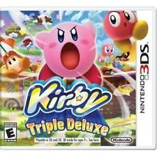 Kirby: Triple Deluxe (Nintendo 3DS) COMPLETE EXCELLENT CONDITION