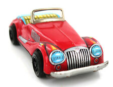 Vintage Classic MG Tinplate Toy Red Car Sanko Japan 1960's