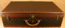 Louis vuitton grand valise de voyage * Alzer 75 */large fichier suitcase #11988