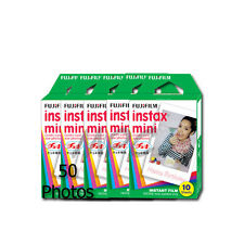 Fuji Instax Mini Instant Film (50 shot) f/ Model 7 7s 8 25 50 70 90 Cameras 2017
