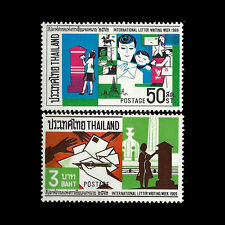 Thailand. International Letter Writing Week. 1969. Scott 532 & 535 MNH (BI#23)
