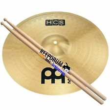 "Meinl HCS 14"" Crash Becken + Keepdrum Drumsticks"