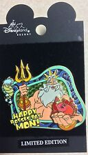 NEW Disney 2002 Bosses Day LE 1500 Pin Little Mermaid Triton ARTIST PROOF