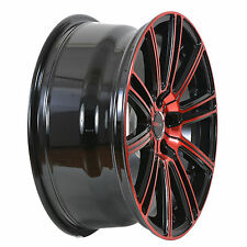 4 GWG Wheels 18 inch Crimson Red FLOW Rim fits 5x114.3 ET40 FORD FUSION 2010