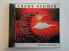 FREDY STUDER : SEVEN SONGS [ CD ALBUM PORT GRATUIT ]