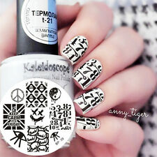 Nagel Schablone BORN PRETTY 39 Nail Art Stamp Stamping Template Plates