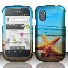 For ZTE Concord V768 Rubberized HARD Protector Case Phone Cover Star Fish
