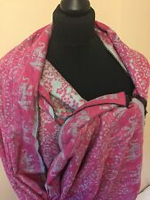 High Quality Pashmina 100% Cashmere Wool Evening Shawl Scarf Wrap Up Stole India