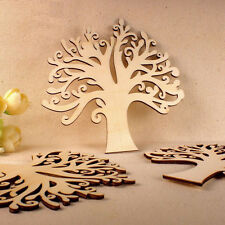 Handmade Wooden MDF Autumn Tree Design Blank Wedding Guestbook Decoupage Crafts