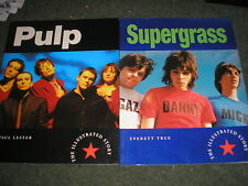 LOT 2 BOOKS-90'S POP GROUPS SUPERGRASS EVERETT TRUE 1996 & BLUR PAUL LESTER 1996