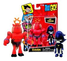 Teen Titans Go! Raven with Trigon Figures New in Package