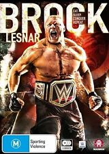 WWE: Brock Lesnar: Eat. Sleep. Conquer. Repeat. NEW R4 DVD