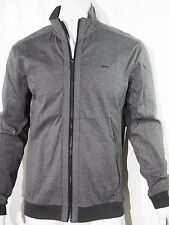 Calvin Klein colorblocked jacquard full zip men's jacket size medium NEW on SALE