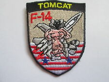 TOMCAT F-14  Embroidered Iron or Sew On Patch - P091