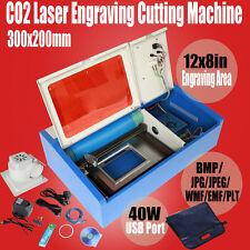 Nuovo USB CO2 incisione 40W Laser  incisione a laser taglio incisione Writer