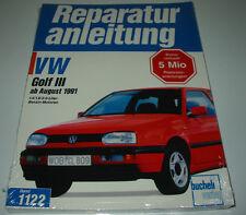 Reparaturanleitung VW Golf III 3 Typ 1H 1,4 / 1,8 / 2,0 l ab August 1991 NEU!