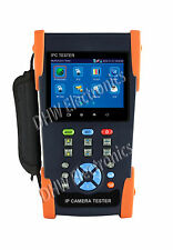 "IPC-3500A 3.5"" Touch Screen IP/ Analog CVBS/ AHD CCTV Camera IPC Tester Display"