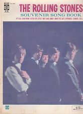 THE ROLLING STONES 1964 SOUVENIR SONG BOOK