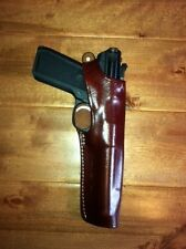 Brown Leather Holster Ruger Mark I II III IV with 5 1/2 inch barrel  #9259
