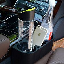 Car Seat Seam Wedge Cup Holder Food Drink Mount Stand Storage Organizer Black sx
