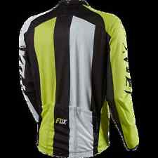 Fox Livewire Race Long Sleeve Cycling Jersey Acid Green Small NEW