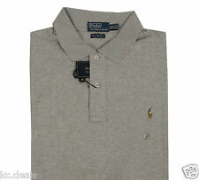 POLO RALPH LAUREN PIMA SOFT TOUCH BIG TALL MENS SHIRTS PONY LOGO RED BLUE GREEN
