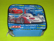 Pixar's Cars Soft Lunch Box Lunchbox Lightning McQueen Wold Grand Prix