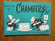 BOB CHAMBERS(Robert W. Chambers(Died in 1996)Signed Book(CARTOONS BY CHAMBERS-67
