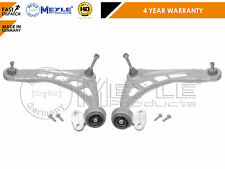 Per BMW E46 3 SERIE FRONT CONTROL ARMS Forcella Bush arbusti Meyle HD Heavy Duty