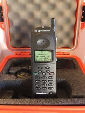 Qualcomm GSP-1600 Tri-Mode Satellite Phone 2 Batteries & GCK 1410 Hands Free Kit