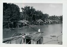 COCHINCHINE c. 1940 - Village Lacustre Sud Viet-Nam - P 69