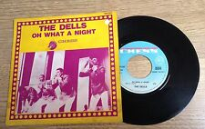 "French 7"" The Dells Oh what a night/ A whiter shade of pale soul 1969 EXC"