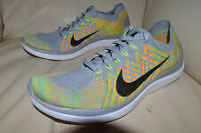New Men's Nike Free 4.0 Flyknit Running Shoes 717075-003 Sz 7.5 (or sz 9 womens)
