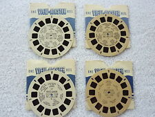VIEWMASTER 4 REELS BRYCE CANYON HAND LETTERED WHITE AND TAN 16 AND 17