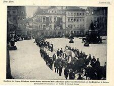 Funeral del duque Alfred de Sajonia-koburg y Gotha histor. memorabile 1900