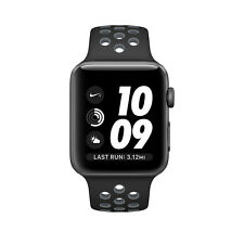 BRAND NEW Apple Watch Nike+ 42mm Space Gray with Black / Cool Sport Band