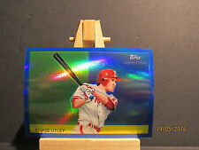 2010 Topps Chrome National Chicle Blue Refractors #CC44 Chase Utley SN 182/199
