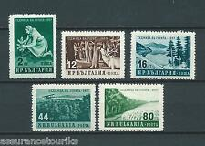 BULGARIE - 1957 YT 898 à 902 - TIMBRES NEUFS** LUXE / MNH