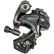 NEW 2017 Shimano ULTEGRA 11 Speed Rear Derailleur: SHORT CAGE: RD-6800SS GRAY